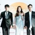 Hwang Chi Yeul, Seohyun SNSD dan Jung Yong Hwa CN Blue di Red Carpet Hari Pertama Golden Disk Awards 2017