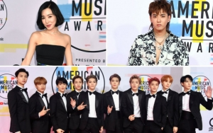 Tiffany, Kris Wu dan NCT 127 Ramaikan Red Carpet American Music Awards 2018