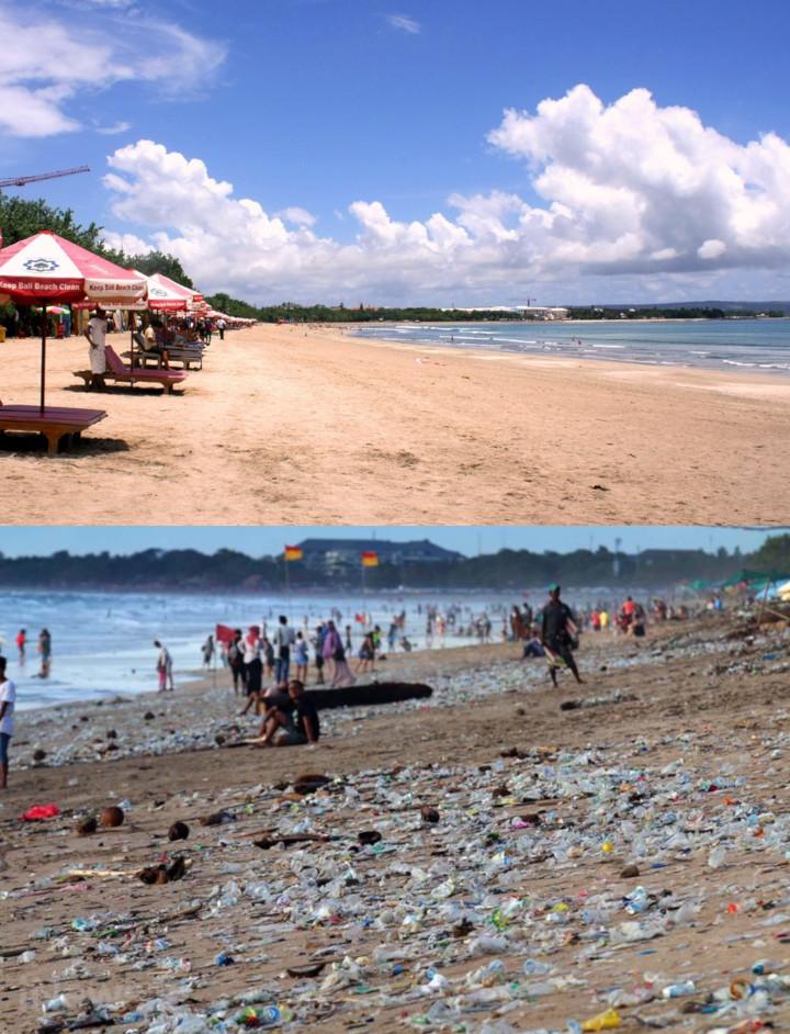 Menjadi Destinasi Wisata Kebanggaan Indonesia Pantai Kuta