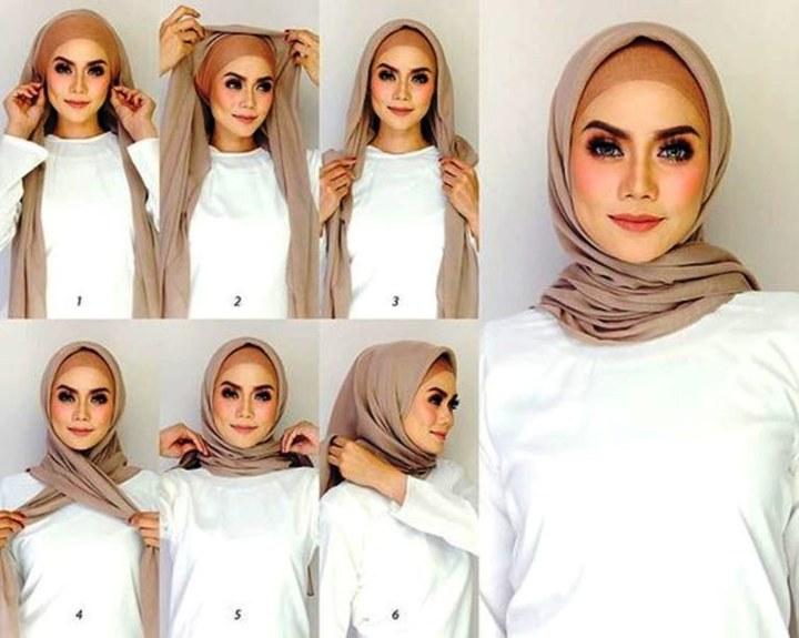 11 Tutorial Hijab Untuk Ke Kondangan Yang Mudah Dan Tak Ketinggalan Zaman Cobain Deh