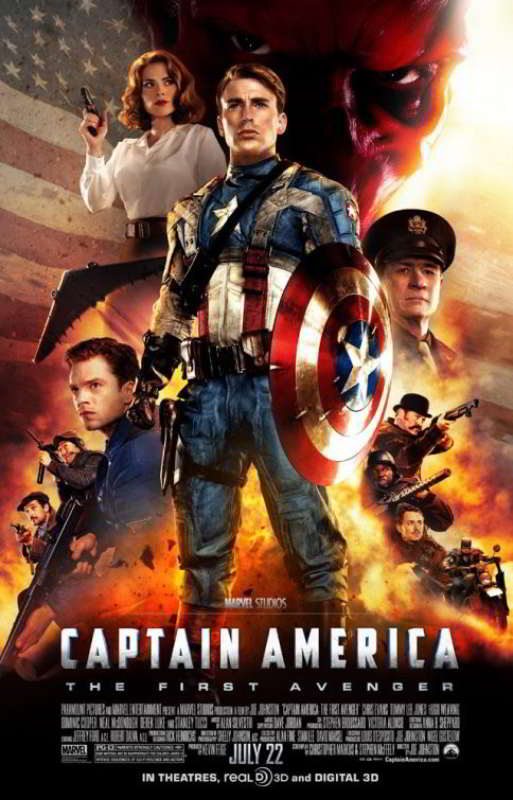 Foto Poster Film 'Captain America: The First Avenger'