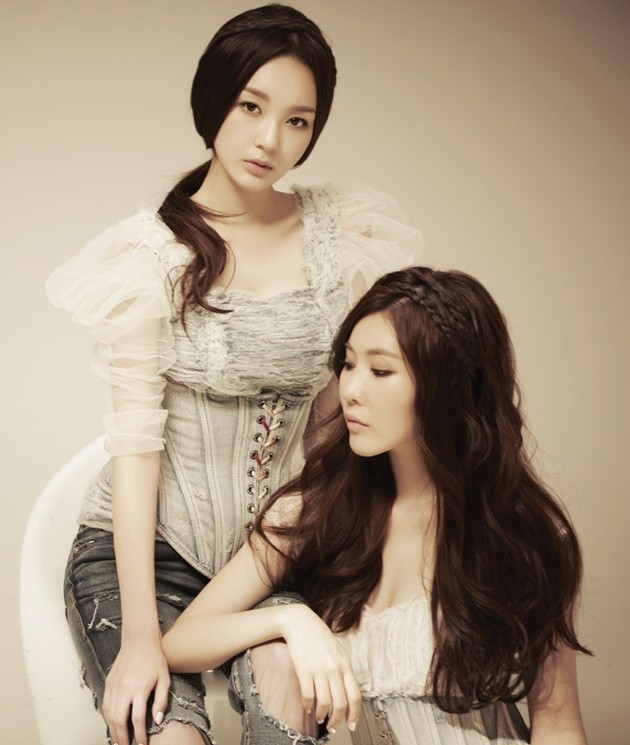 "Foto Davichi untuk Single ""Don't Say Goodbye"""