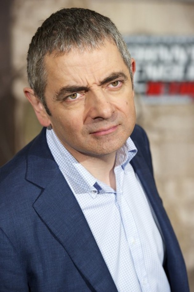 Foto Rowan Atkinson di Johnny English Returns Photocall