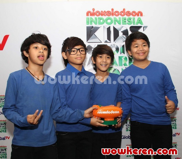 Foto Coboy Junior di Kids' Choice Awards 2012