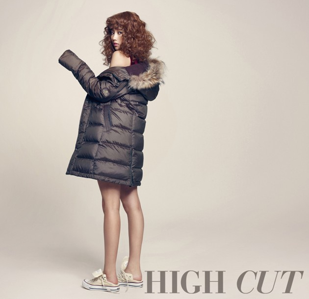 Foto Suzy di Majalah High Cut Edisi November 2012