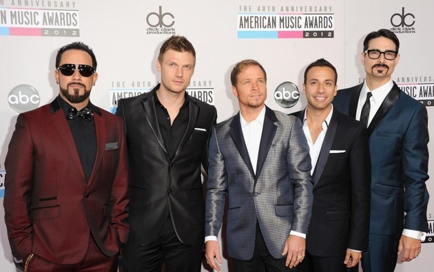 Foto Backstreet Boys di Red Carpet AMAs 2012