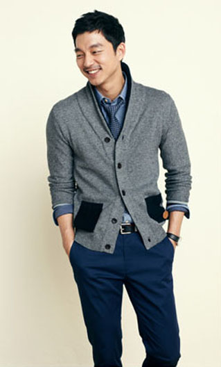 Foto Gong Yoo di Katalog Fashion Mind Bridge