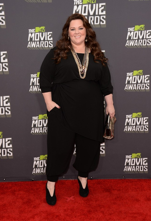Foto Melissa McCarthy di Red Carpet MTV Movie Awards 2013