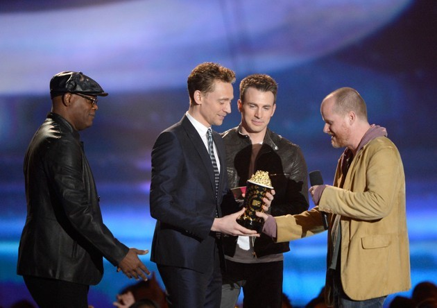 Foto Film 'The Avengers' Raih Penghargaan Movie of the Year MTV Movie Awards 2013