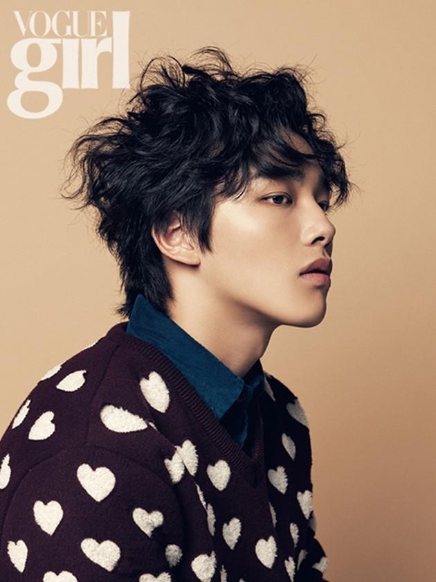 Foto Yeo Jin Goo di Majalah Vogue Girl Edisi November 2013 ...