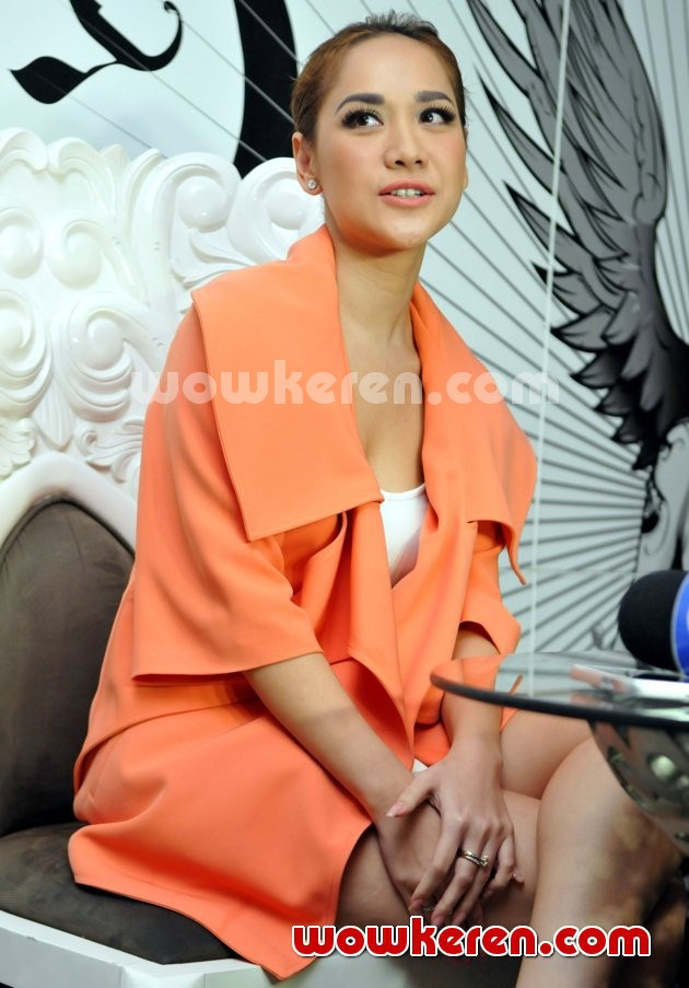 Foto Bunga Citra Lestari di Acara 'Interview with Bunga Citra Lestari'
