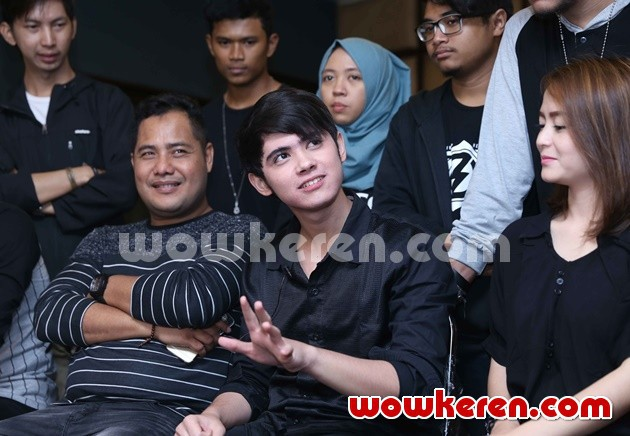 Foto Jumpa Pers Konser Mini 'The World of Aliando'