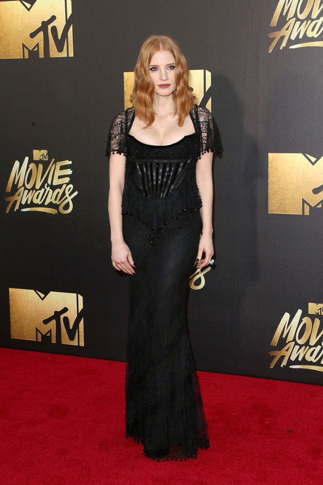 Foto Jessica Chastain di Red Carpet MTV Movie Awards 2016