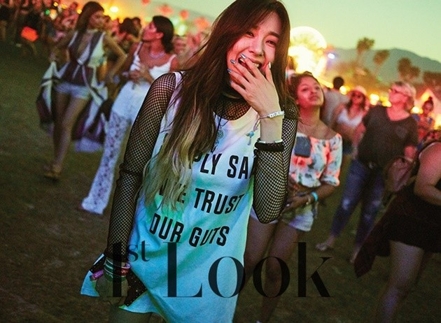 Foto Tiffany Girls' Generation di Majalah 1st Look Vol.133