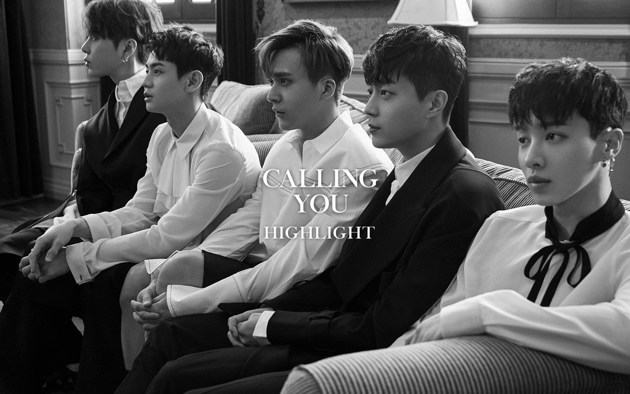 Foto Highlight di Teaser Mini Album Repackage 'Calling You'
