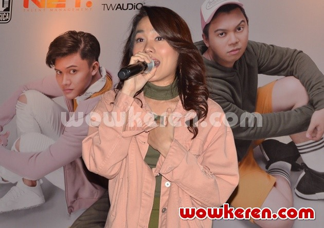 Foto Sheryl Sheinafia di Launching Single 'Sweet Talk'