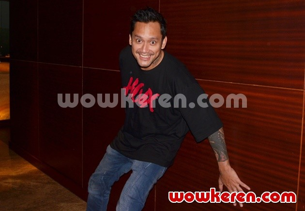 Foto Tora Sudiro Hadiri Press Screening Film 'Hoax'