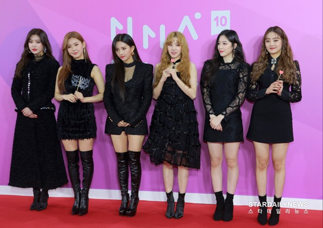 Foto (G)I-DLE di Red Carpet Melon Music Awards 2018