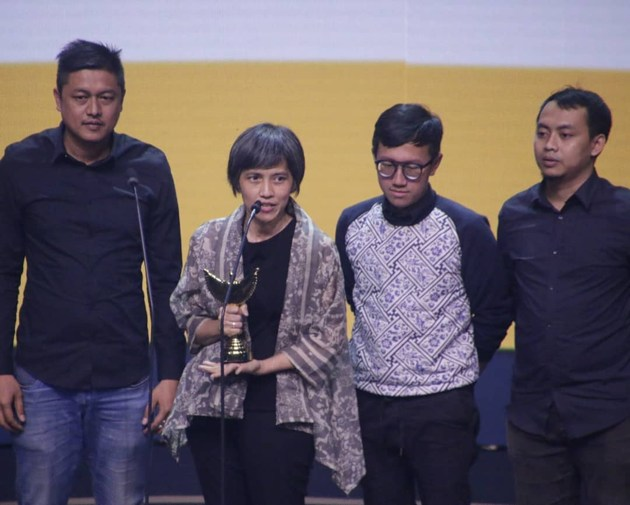 Foto 'Indonesian TV Awards' Terpilih Sebagai Pemenang Kategori 'Program Special Event Terfavorit' Panasonic Gobel Awards 2018