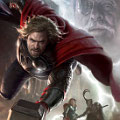 Concept Art dari Poster Film 'The Avengers' : Thor