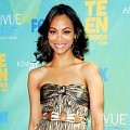 Zoe Saldana di Red Carpet Teen Choice Awards 2011