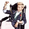 G-Dragon di Ikon Fashion Bean Pole