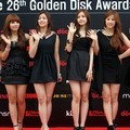 A Pink di Red Carpet Golden Disk Awards 2012