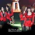 Secret dan Sistar di Golden Disk Awards 2012