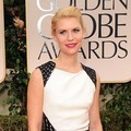 Claire Danes di Red Carpet Golden Globes 2012
