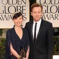 Ewan McGregor dan Eve Mavrakis di Red Carpet Golden Globes 2012