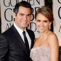 Jessica Alba dan Cash Warren di Red Carpet Golden Globes 2012
