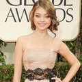 Sarah Hyland di Red Carpet Golden Globes 2012