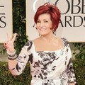 Sharon Osbourne di Red Carpet Golden Globes 2012