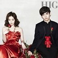 Lee Yeon Hee dan Max Changmin di Majalah High Cut