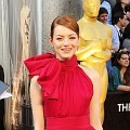 Emma Stone di Red Carpet Oscar 2012