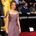 Sarah Hyland di Red Carpet Oscar 2012