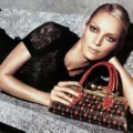 Uma Thurman Menjadi Model Fashion Louis Vuitton
