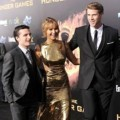Josh Hutcherson, Liam Hemsworth, Jennifer Lawrence di Premiere 'The Hunger Games'