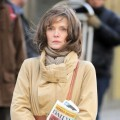 Michelle Pfeiffer Saat On the Set of 'New Year's Eve'
