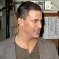 Channing Tatum Sehabis Syuting 'Live! with Kelly' Show