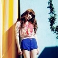 Tiffany di Majalah Vogue Girl Edisi April 2012