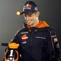 Casey Stoner di Press Conference MotoGP Tim Honda Repsol