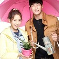 Yoona dan Kim Young Kwang di Serial TV 'Love Rain'