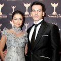 Atalarik Syah dan Tsania Marwa di Red Carpet Panasonic Gobel Awards 2012