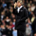 Roberto Mancini di English Premier League Football Match