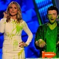Heidi Klum dan Chris Colfer di Kids' Choice Awards 2012