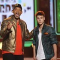 Will Smith dan Justin Bieber di Kids' Choice Awards 2012