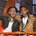 Willow Smith dan Jaden  Smith di Kids' Choice Awards 2012