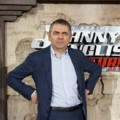 Rowan Atkinson di Johnny English Returns Photocall