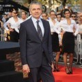 Rowan Atkinson di Premiere 'Johnny English Reborn'